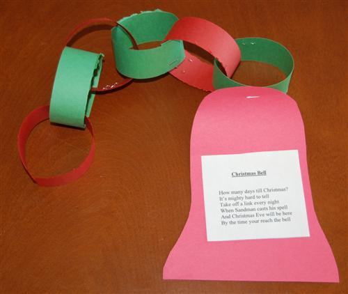 Christmas bell kids craft